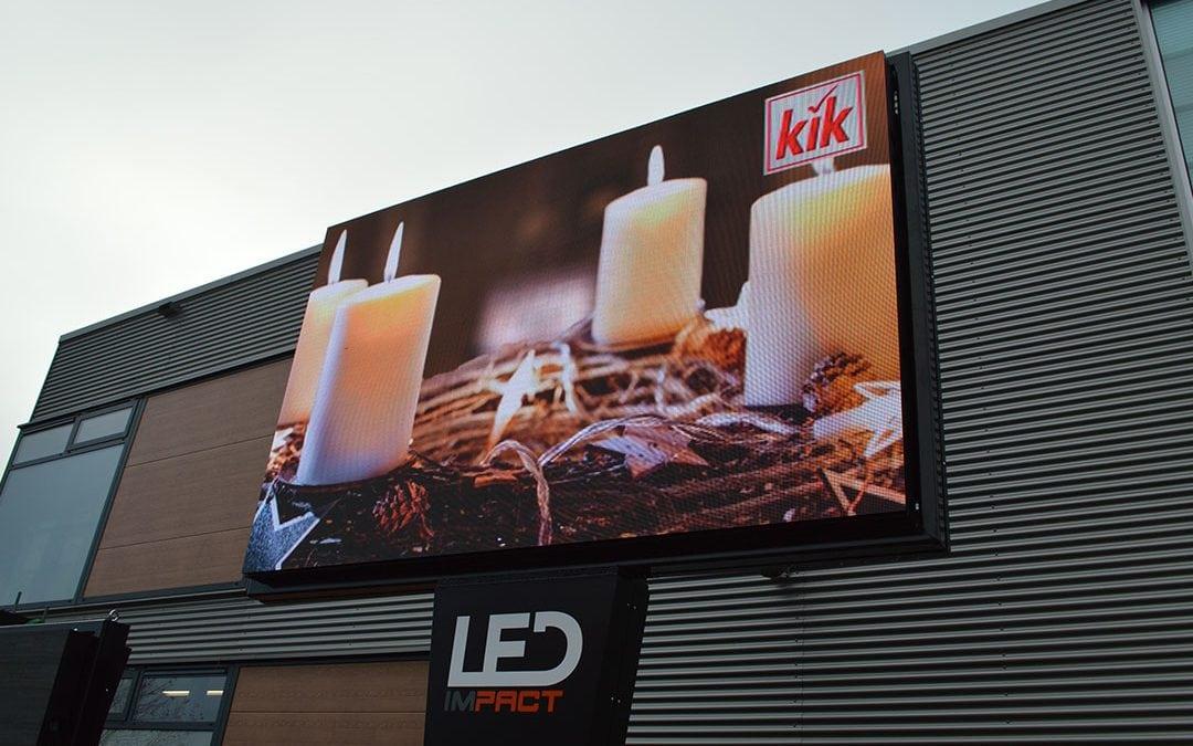 LED scherm = alternatief voor LED wall