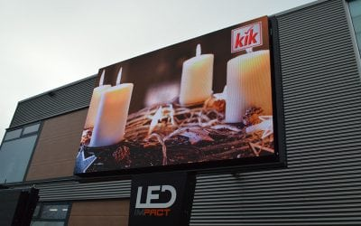 LED scherm = alternatief voor LED wall