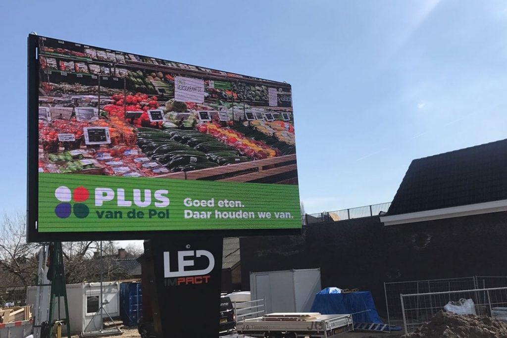 ledimpact versterkt lokale supermarkt plus