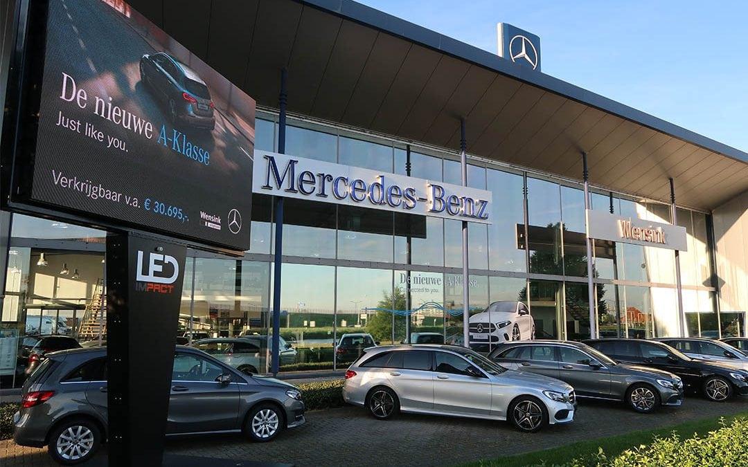 LED schermen blijken perfect podium voor automotive branche