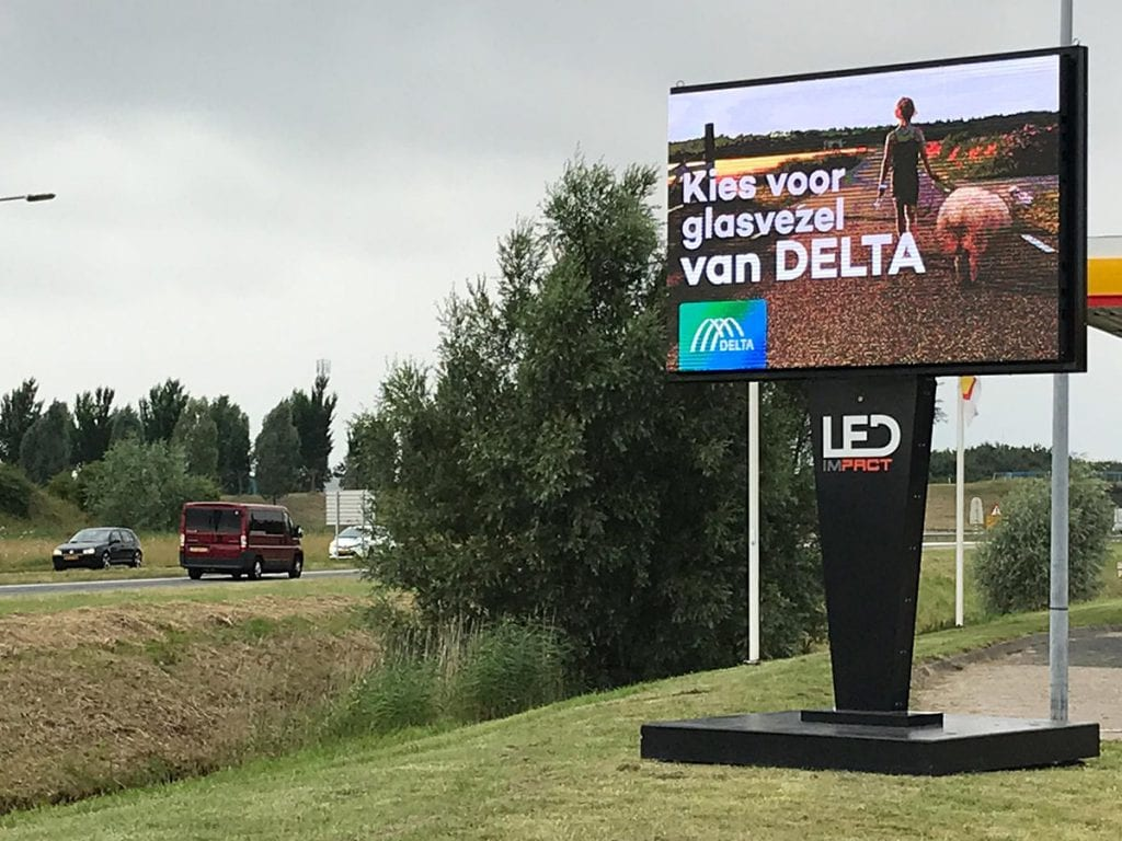 LED scherm voor Delta