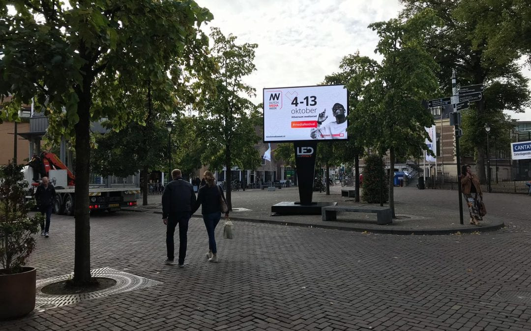 LED schermen op Dutch Media Week 2019 in Hilversum